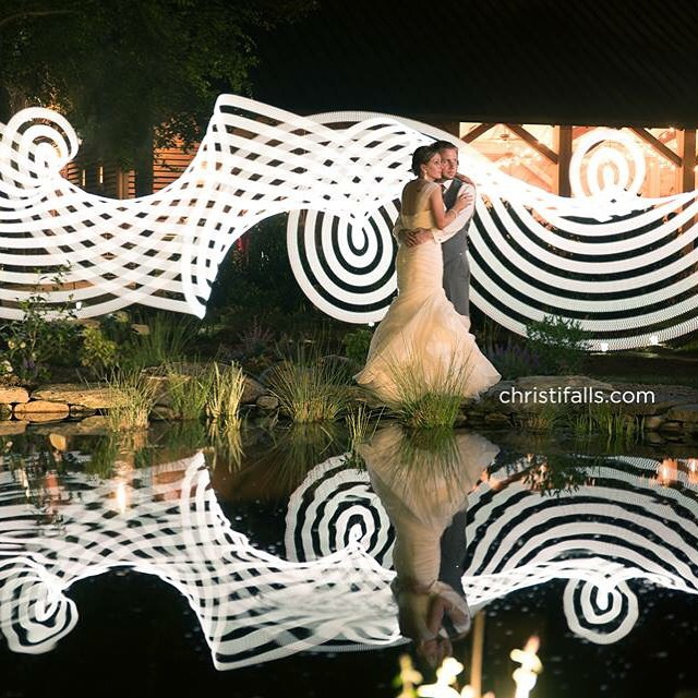 A well-executed ribbon with reflections Courtesy of Christi Falls