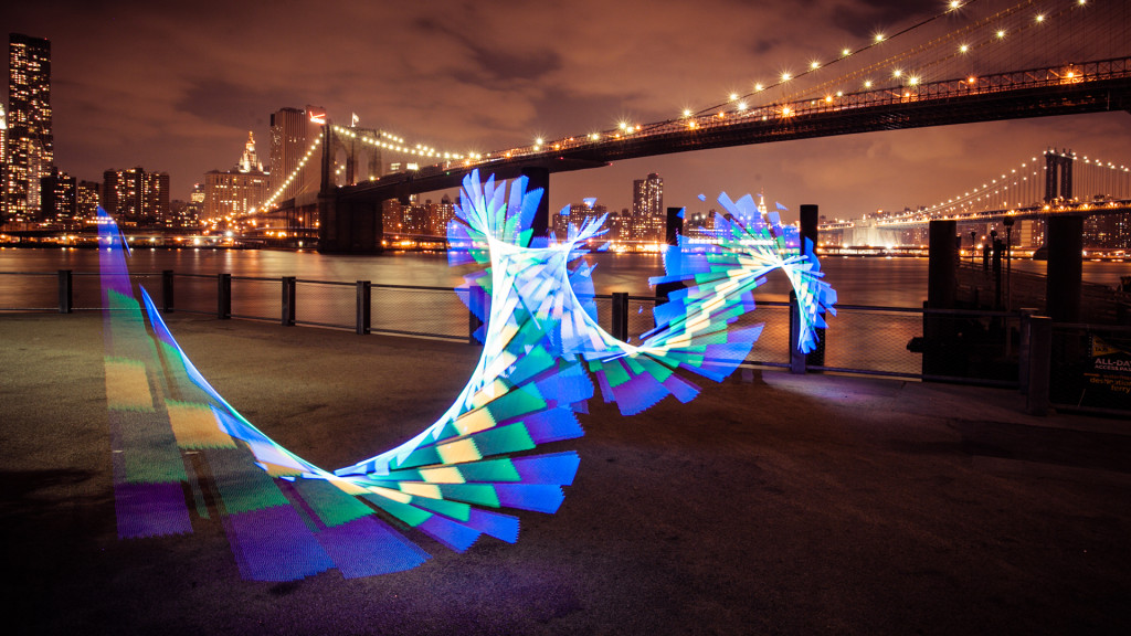 A Chinese Dragon under the shadow of the Manhattan Bridge