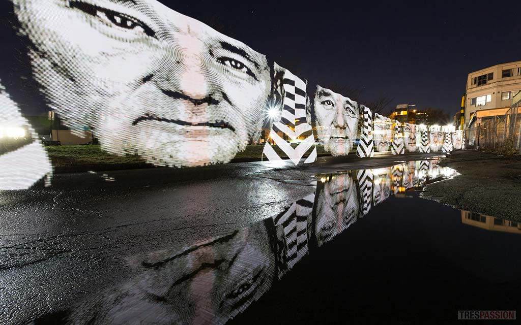 Bill Murray looking rather reflective. Courtesy of John Mooney.
